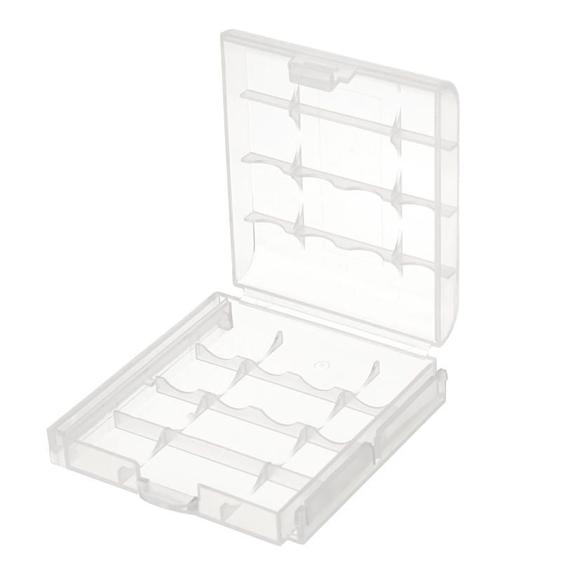 Cr123a Aa Aaa Battery Case Holder Box Storage White Storage Boxes Battery Cases Flashlight