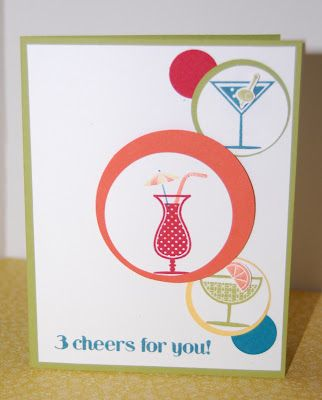 Pink Paper Bakery: Get out your circle punch collection and join me for another Happy Hour!