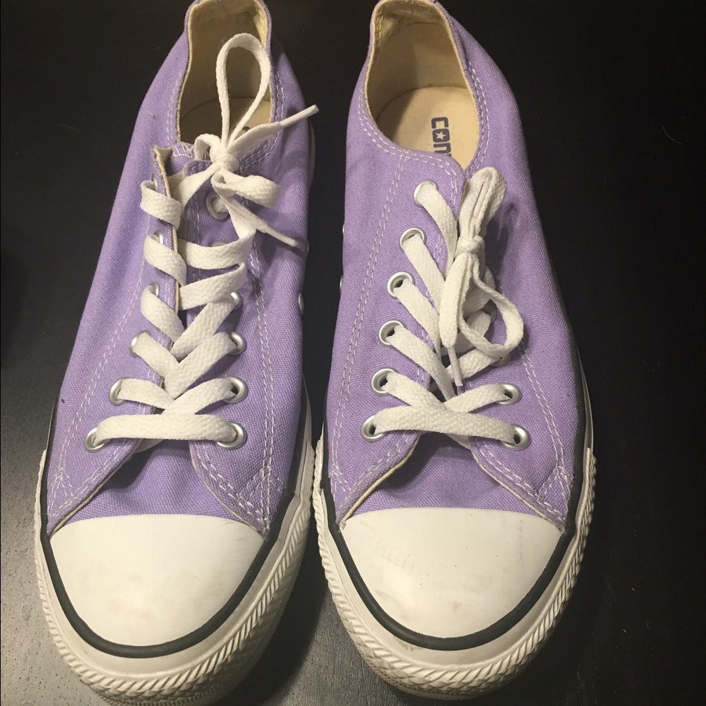 Lavender Converse W 10