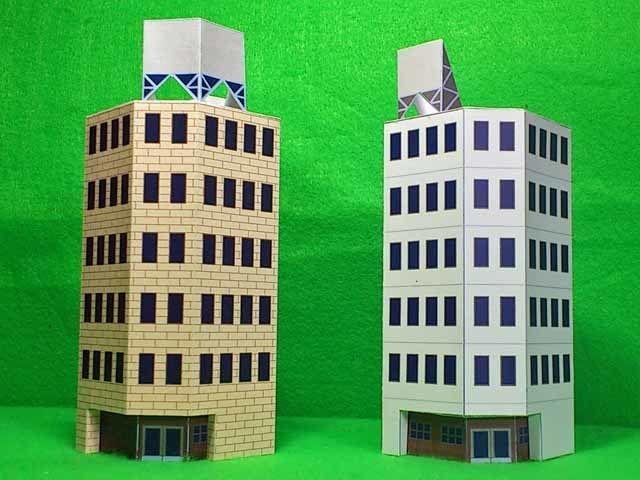 1//300 Scifi  Building Large Garage Wargames Scenery Terrain
