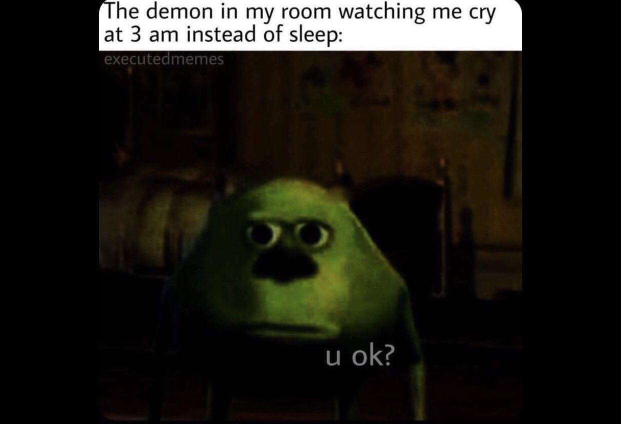 Pin By Siraj Carlis On Memes My Room Demon Sleep