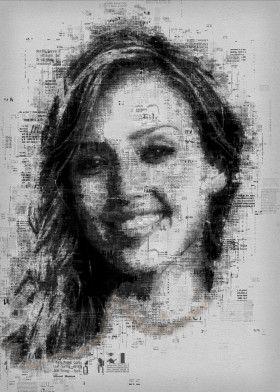 Jessica Alba | Displate thumbnail