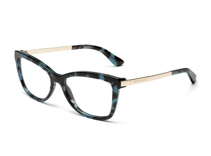 a764d4f28d6 Women s oil blue metal and acetate eyeglasses dg3218 with square frame and  Dolce   Gabbana logo on the temples. Visit D G Eyewear website for more  details.