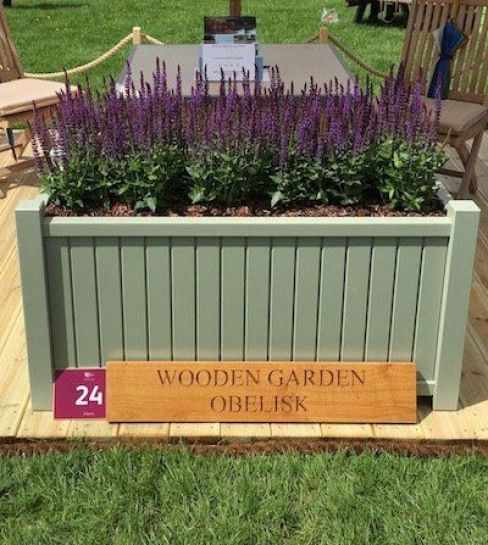 Large Trough Planter Accoya With A 25