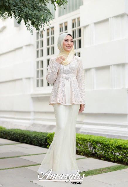 Baju Kebaya Warna Cream