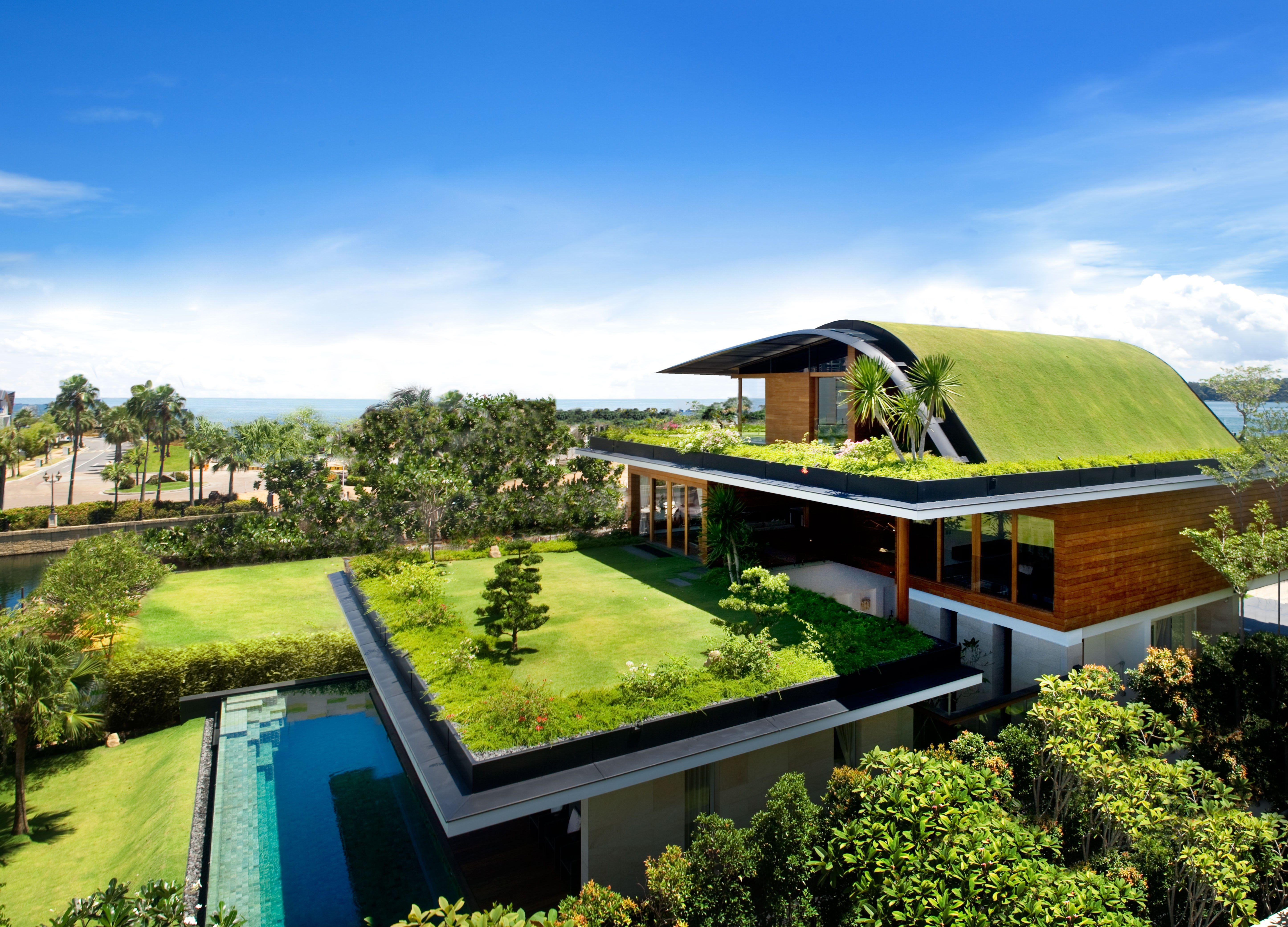16 Spectacular Green Roofs Around The World Green Architecture Eco Architecture Architecture House