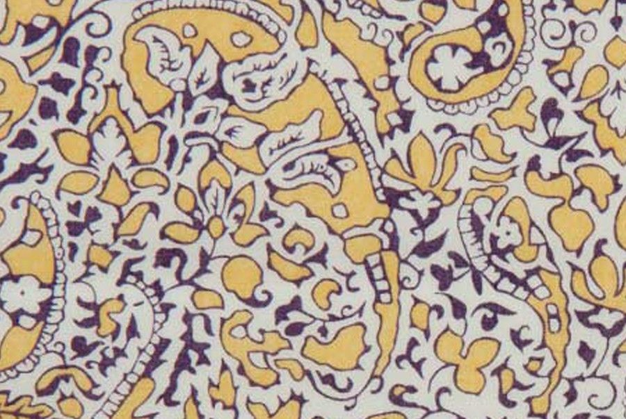 Britex Fabrics -  Liberty of London Tana Cotton Lawn Lagos Laurel Paisley (Imported from England) - Midweight - Cotton - Fabric