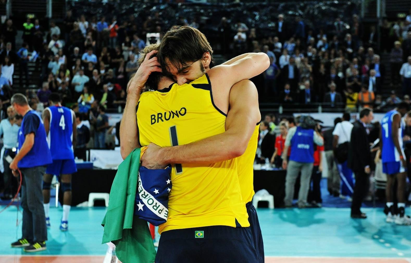 Brazil Bruno 1 Giba 7 Volei