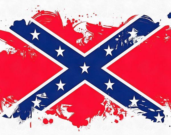 Pin On Rebel Flag