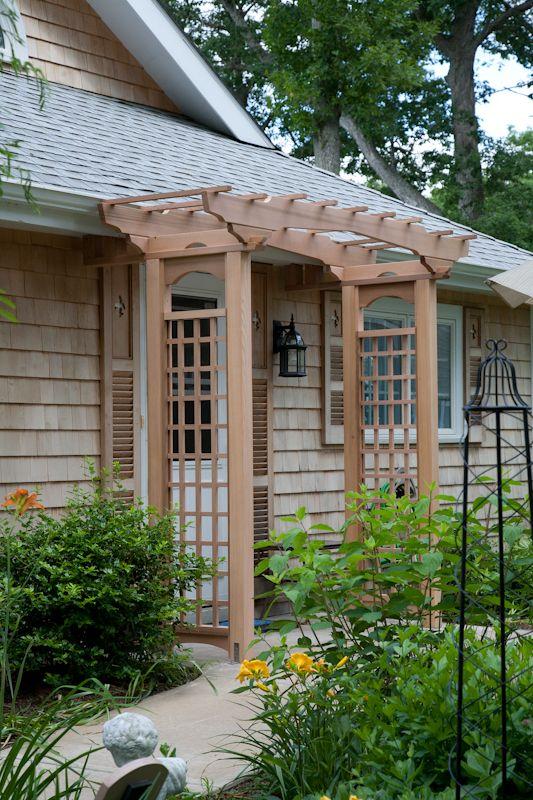Cedar Entry Arbor| West Hartford CT - Bailey Carpentry & Cedar Entry Arbor| West Hartford CT - Bailey Carpentry | For the ...