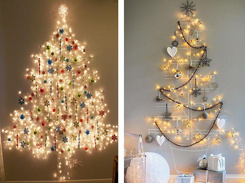 Unconventional Christmas Trees.Unconventional Christmas Tree Ideas Seasonal Alternative