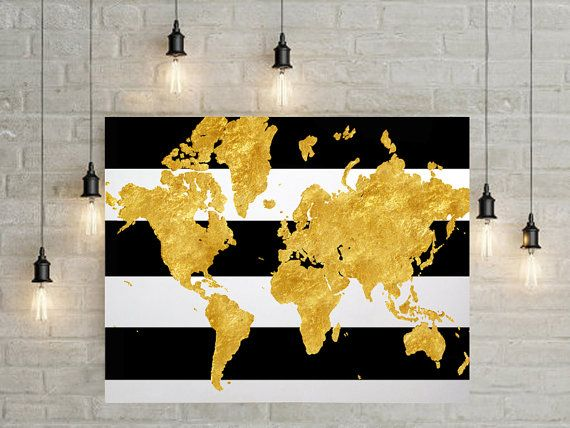 Etsy listing at httpsetsylisting235157812gold world etsy listing at httpsetsylisting235157812 world map gumiabroncs Choice Image