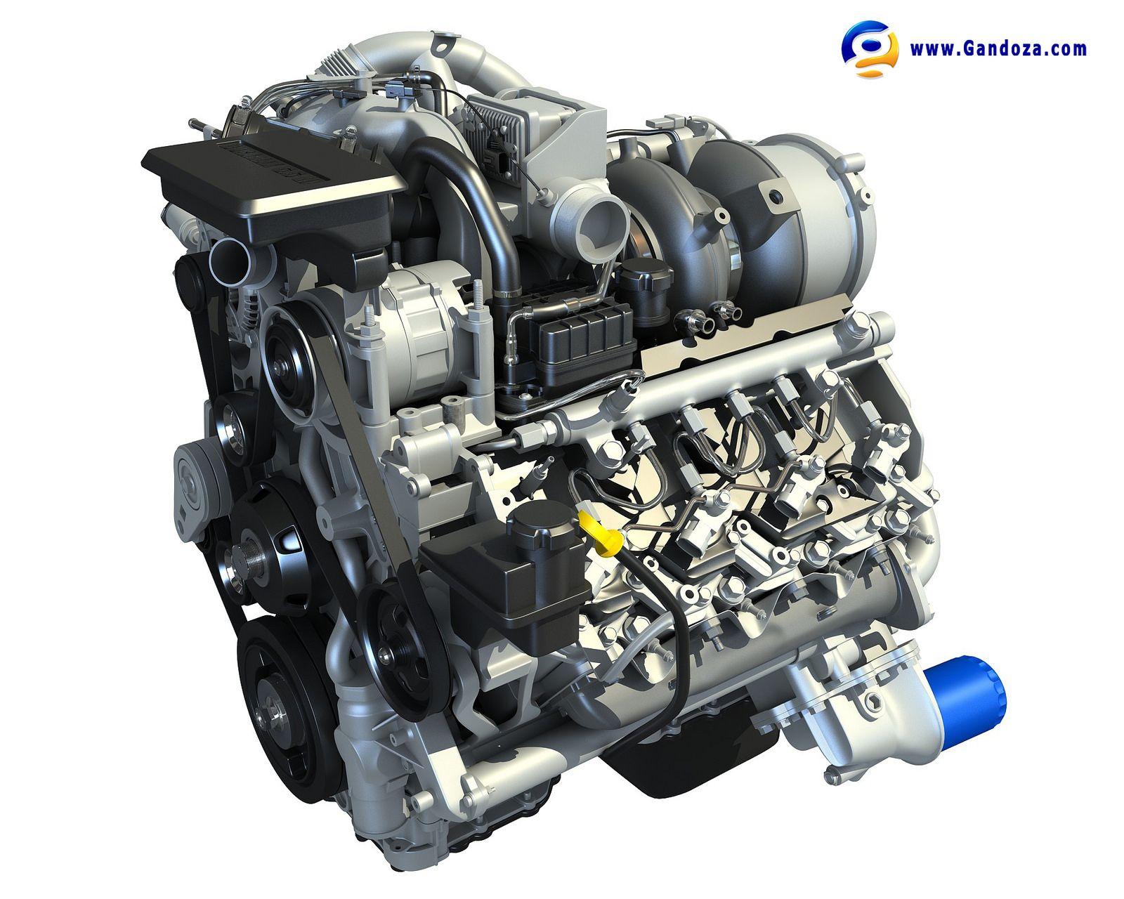 Duramax V8 Turbo Engine Model Duramax Diesel Trucks Duramax