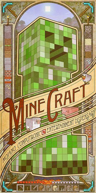 programmer art minecraft