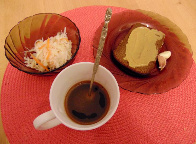 Кофе русиано - пошаговый фоторецепт