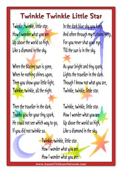 Kirakira Sen P likewise Three Little Kittens together with Nursery Rhyme Pack Final additionally D A Ae Afa D F B furthermore A F Bab D F Fefb C. on nursery rhyme activities le little star