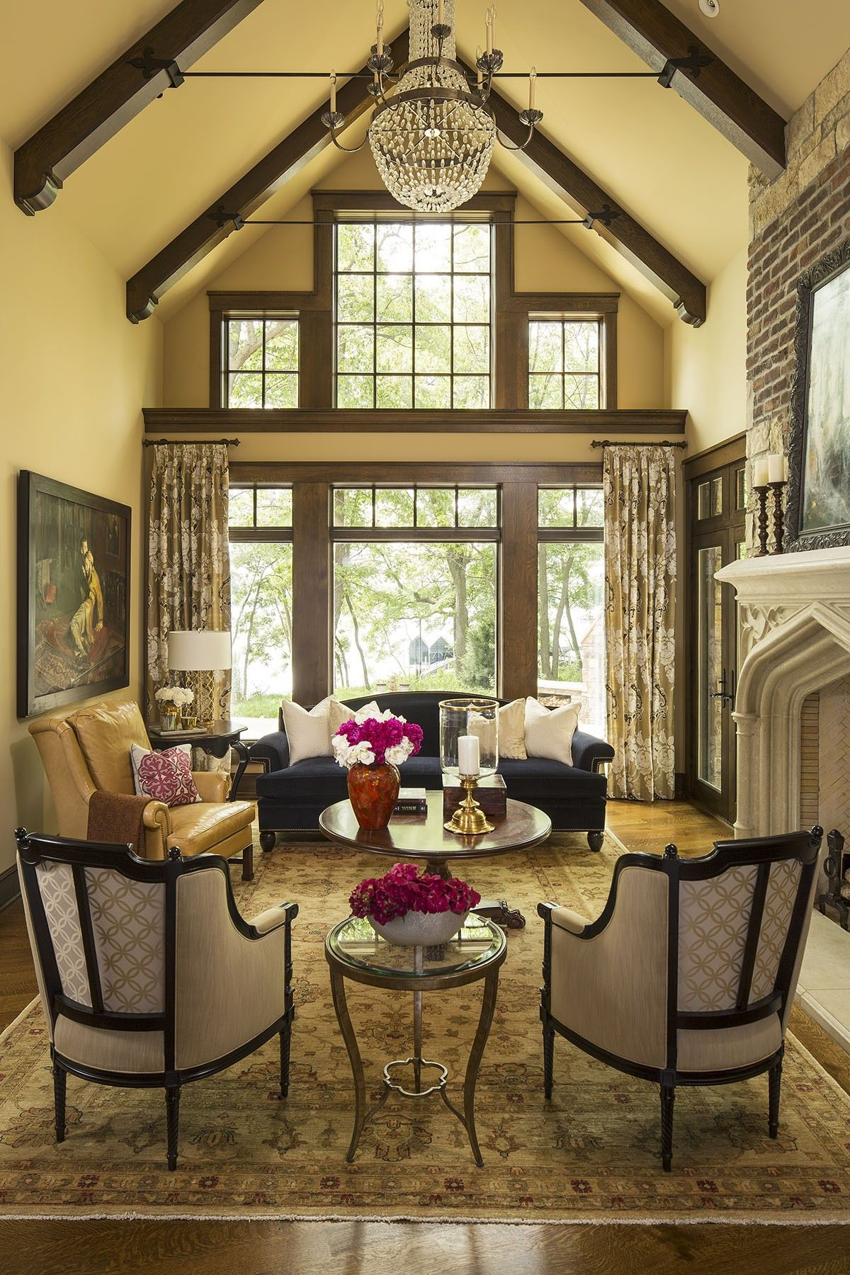 5 Beautiful Ways To Do Exposed Ceiling Beams | Beams, Living rooms ...