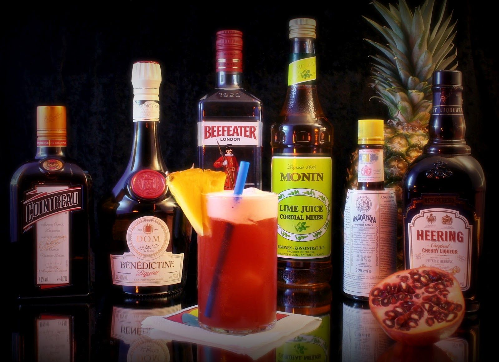 how to make a singapore sling drink