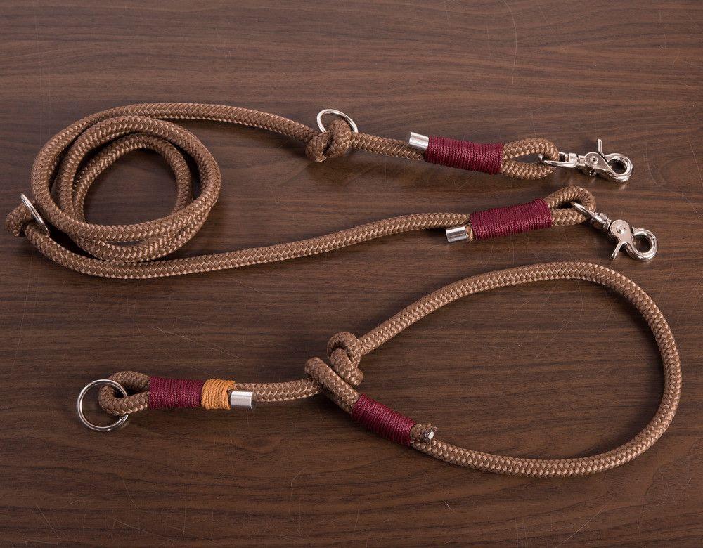 Hund Halsbänder Zugstopp Halsband Coffee Hundehalsband