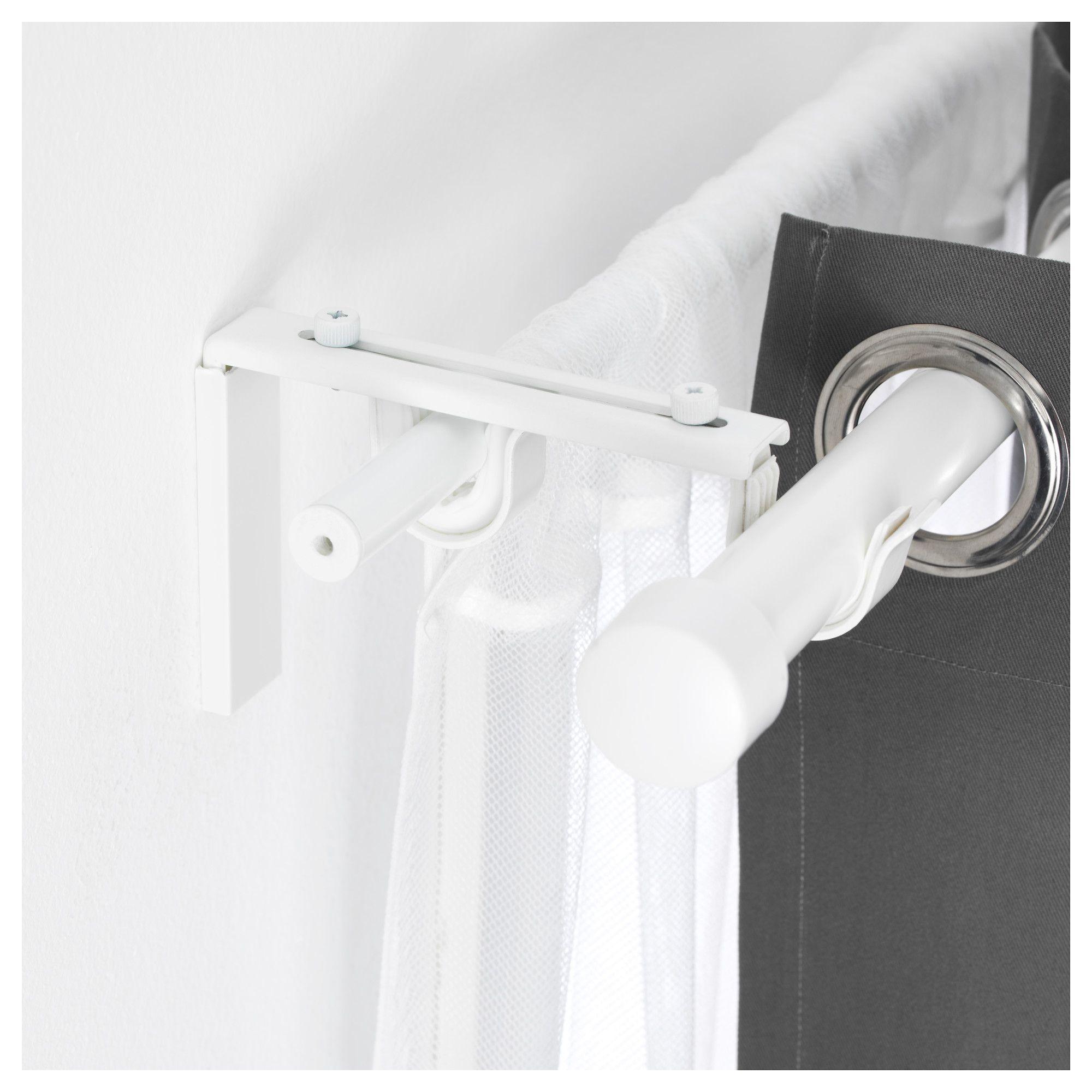 IKEA - BETYDLIG Curtain Rod Holder White