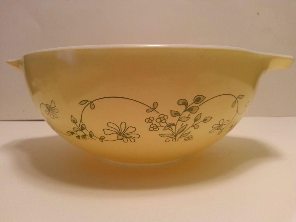 Pyrex Shenandoah/Wintergreen Cinderella Bowl #443