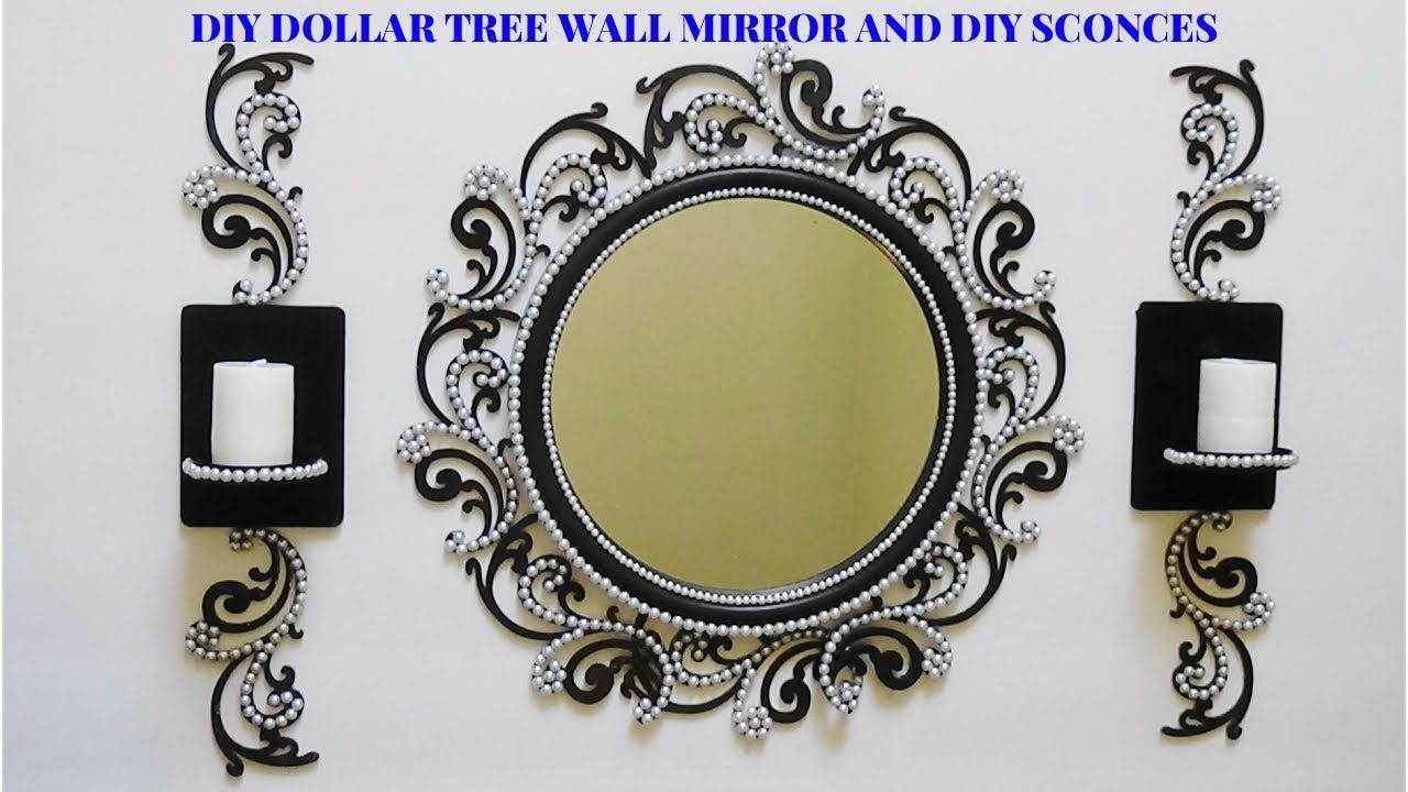Dollar Tree Mirror Frames
