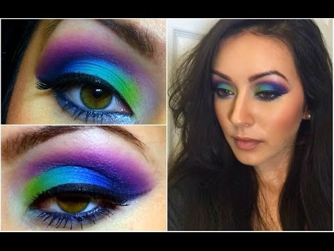 maquillaje de folklore