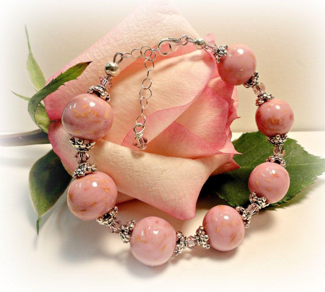 Memorial Bracelet Flower Petal Jewerly By Myflowersforever On Etsy