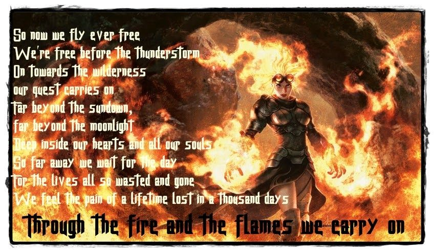 Dragonforce - Through the fire and flames Lyrics picture ...