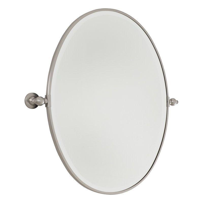 Minka Lavery 1433 Large Oval Mirror Oval Mirror Mirror