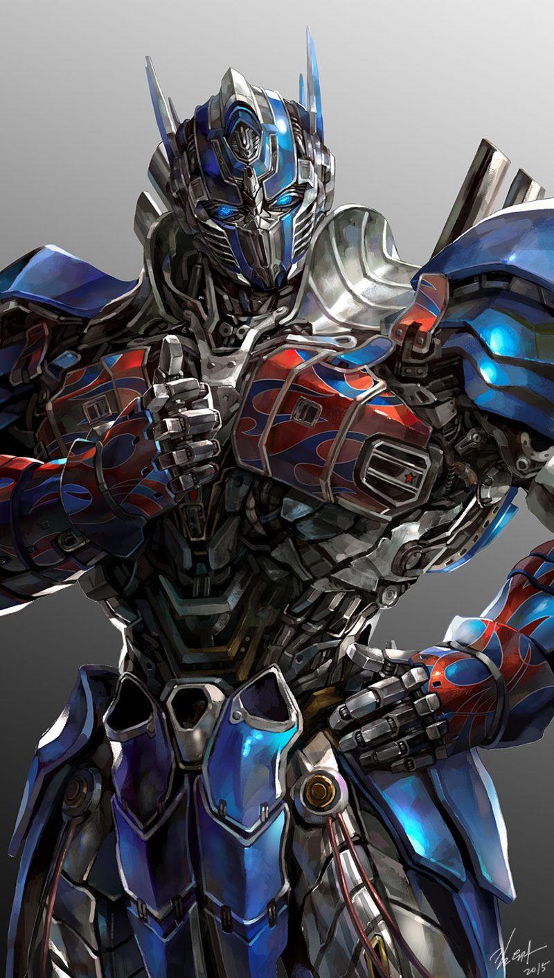 ArtStation Optimus prime, yura Kim in 2020 Optimus