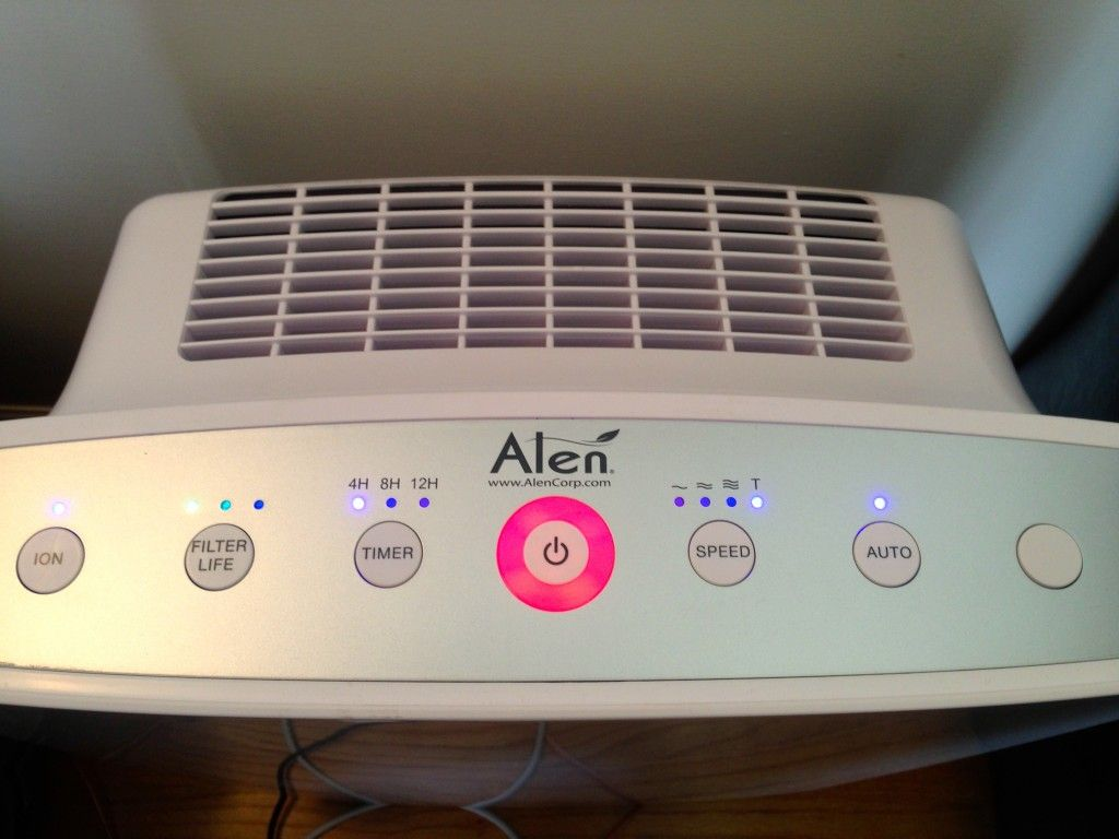 alen air purifier with hepasilver filter u0026 giveaway the education - Alen Air Purifier