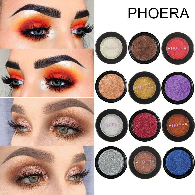Details about PHOERA Eyeshadow Eye Shadow Palette Makeup