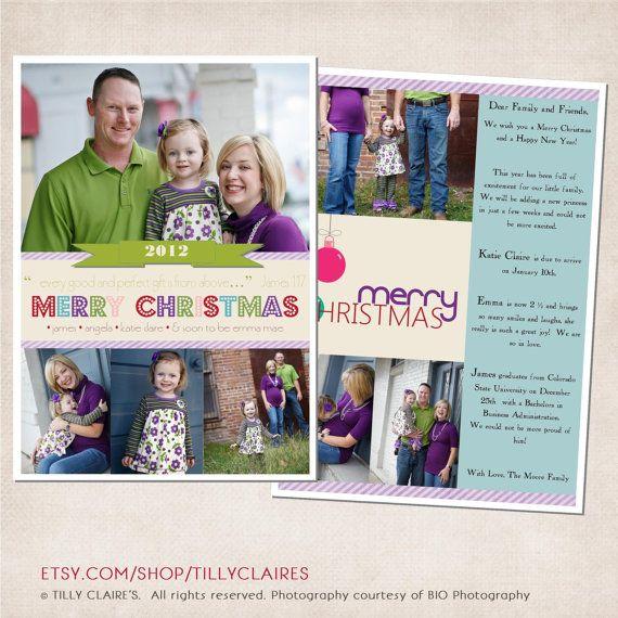 You Print Custom 2 Sided Christian Christmas Photo Card And Year End Le Christian Christmas Photo Cards Christian Christmas Cards Christmas Holiday Photo Cards