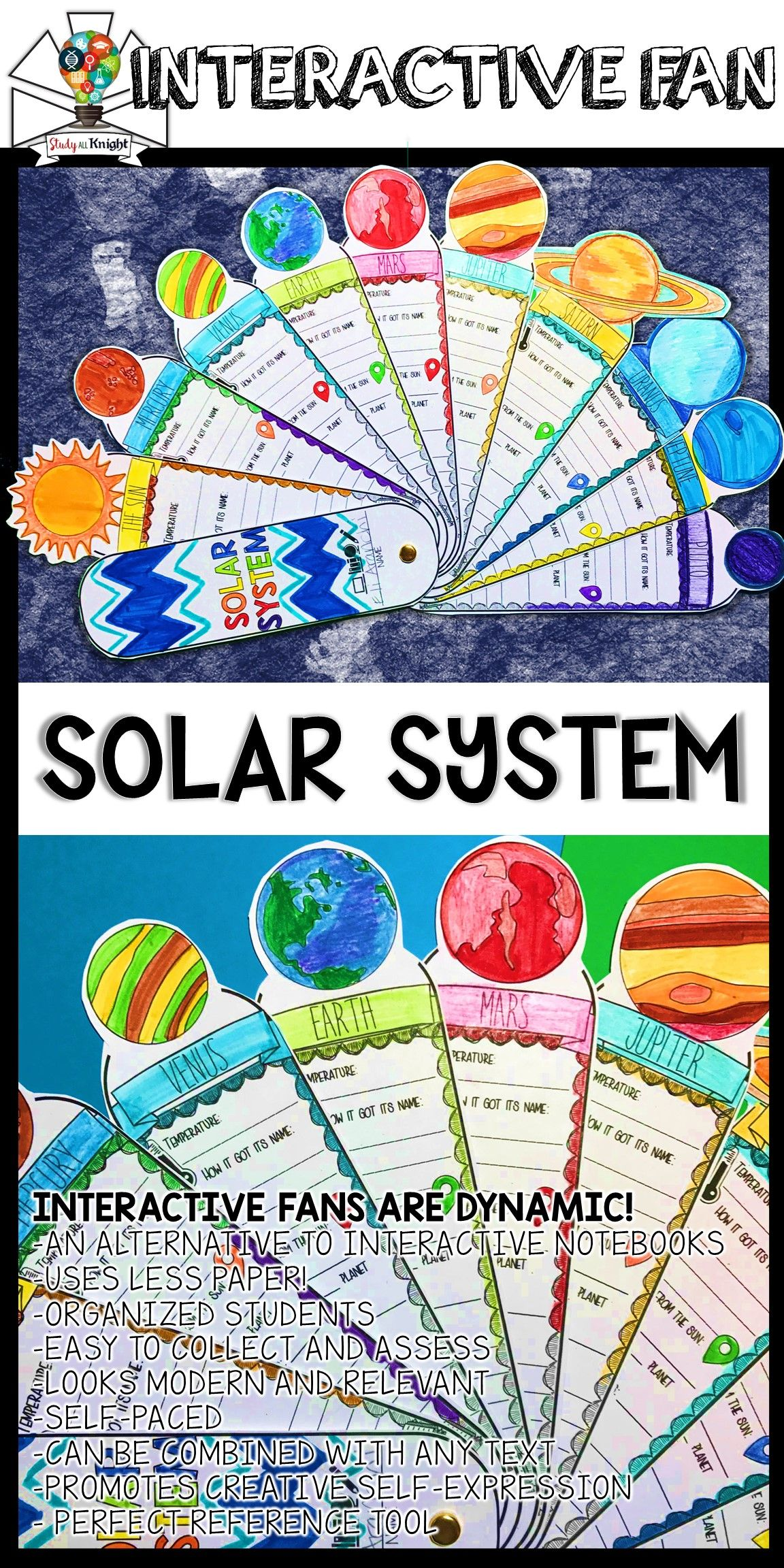 Solar System Activity Planets Research Facts Fill In