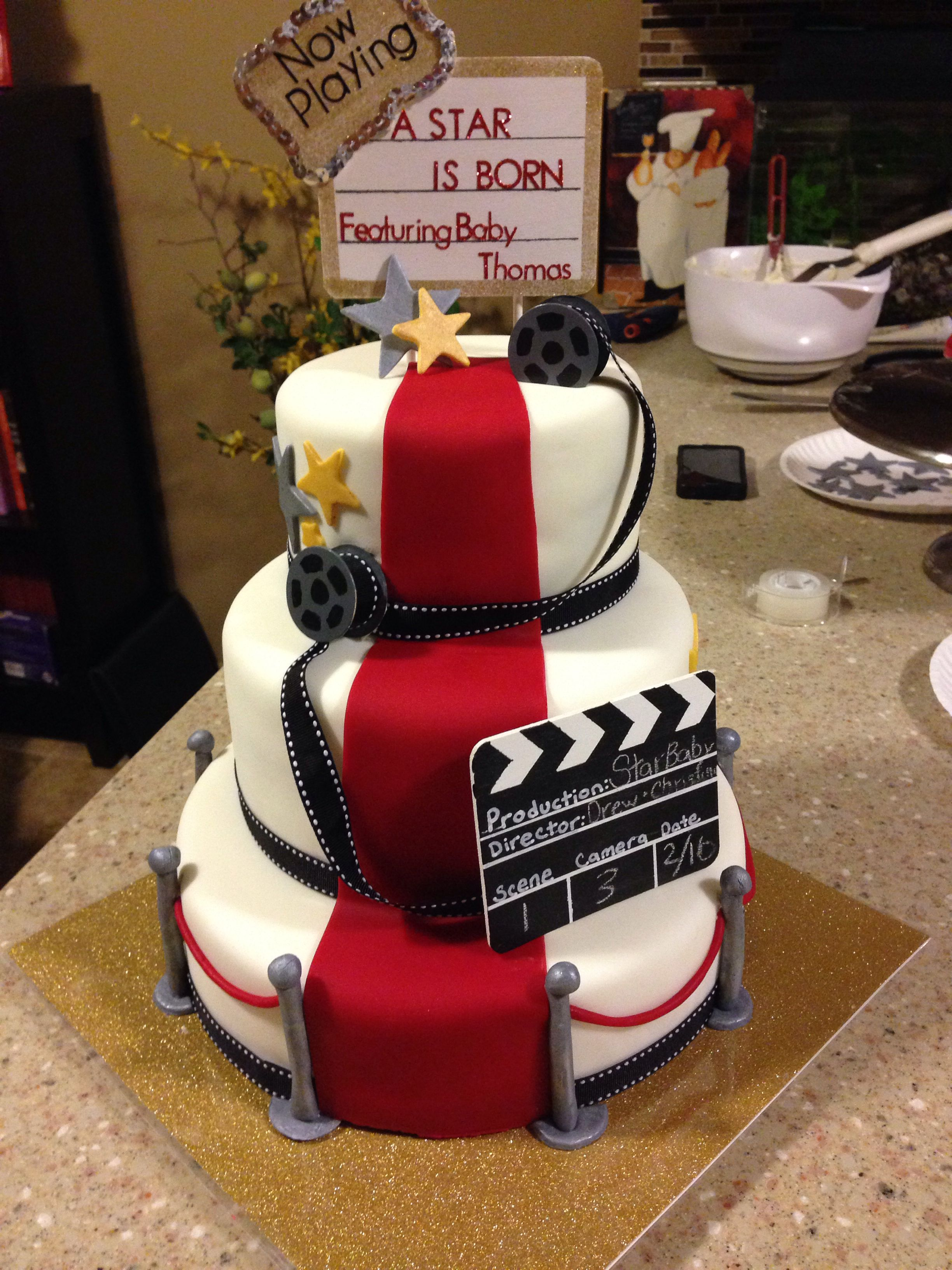 A star is born baby shower cake | My desserts | Pinterest ...