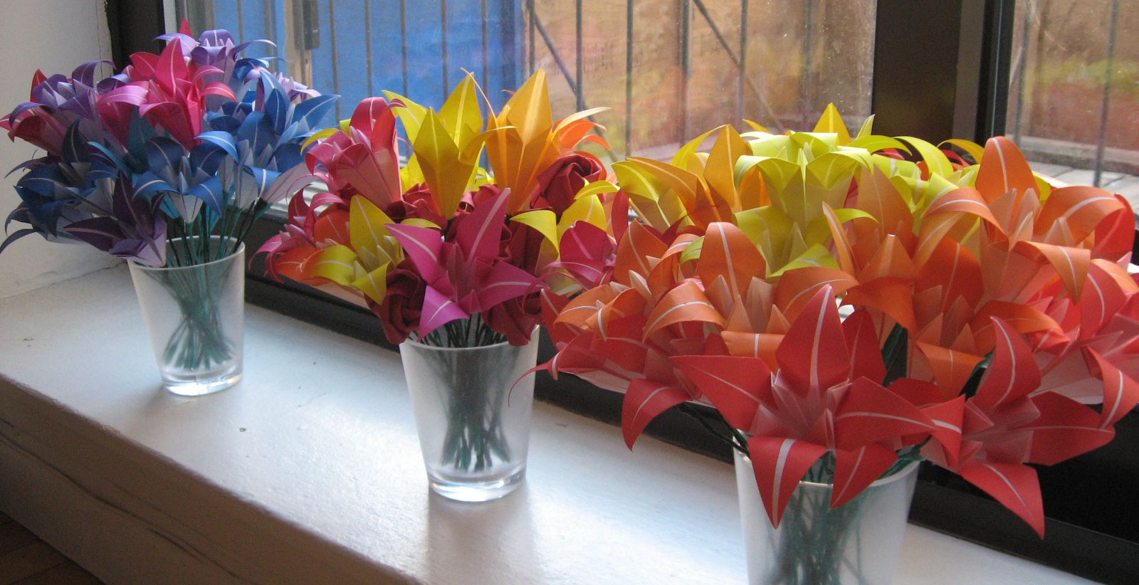 Image result for origami centrepieces wedding pinterest origami flower tutorial part ii izmirmasajfo