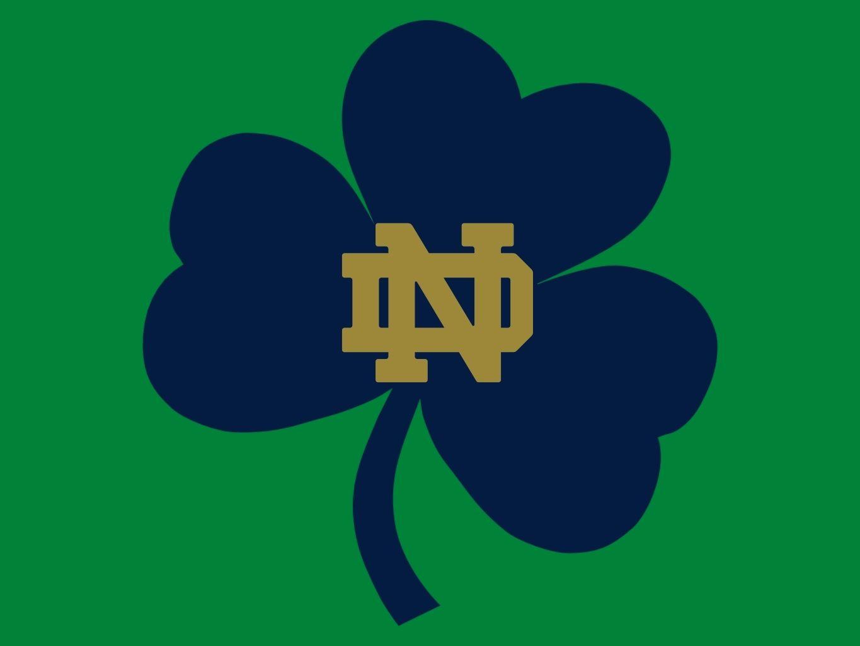 Notre Dame Clover Notre Dame Wallpaper Notre Dame Football Notre Dame Fighting Irish
