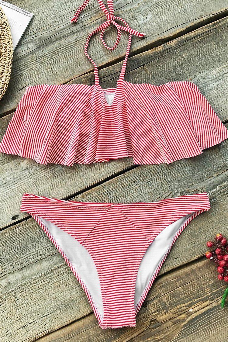 b39e99a9583 Magic Girl Falbala Bikini Set in 2019 | CupShe 2019 | Bikinis ...