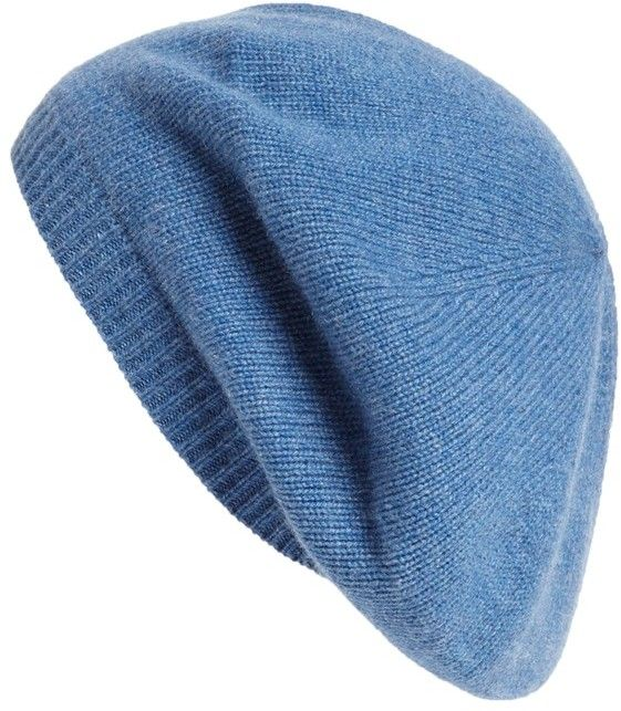c38a3589 Nordstrom Cashmere Beret on shopstyle.com Cashmere Hat, Slouchy Hat, Beret,  Clothing