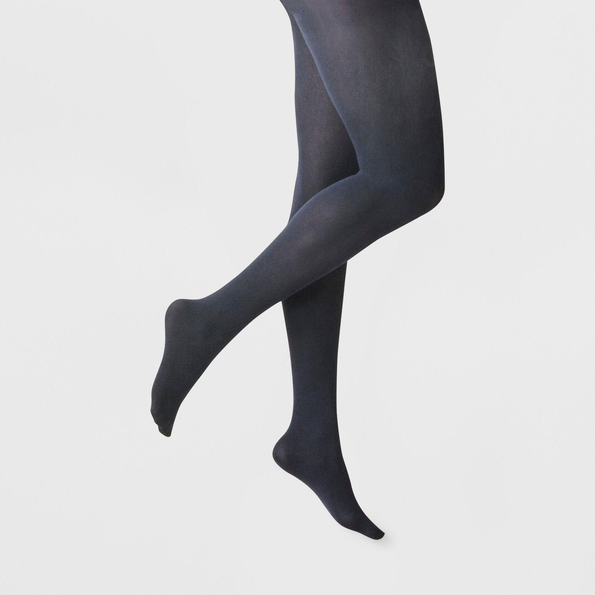 06ffea410ba Plus Size Women s Plus 50D Opaque CT - A New Day Navy (Blue) 1X ...