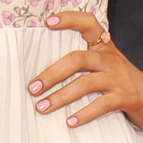 pin savannah nails pink