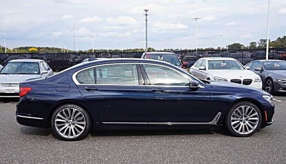2016 Bmw 7 Series In Imperial Blue Bmw 5 Bmw