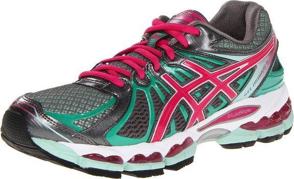 ASICS Women's GEL-Nimbus 15 Running Shoe,Titanium/Hot Pink/Mint,