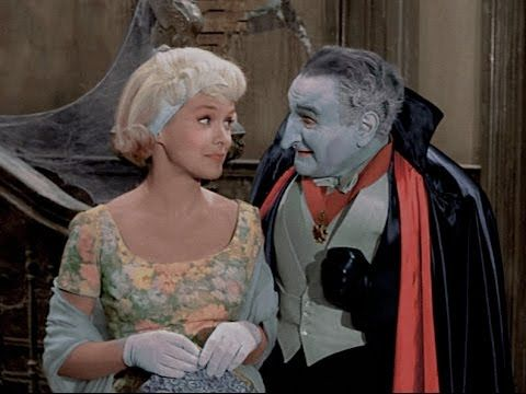 colorized scene from the munsters my fair munster tv episode by - Munsters Halloween Episode