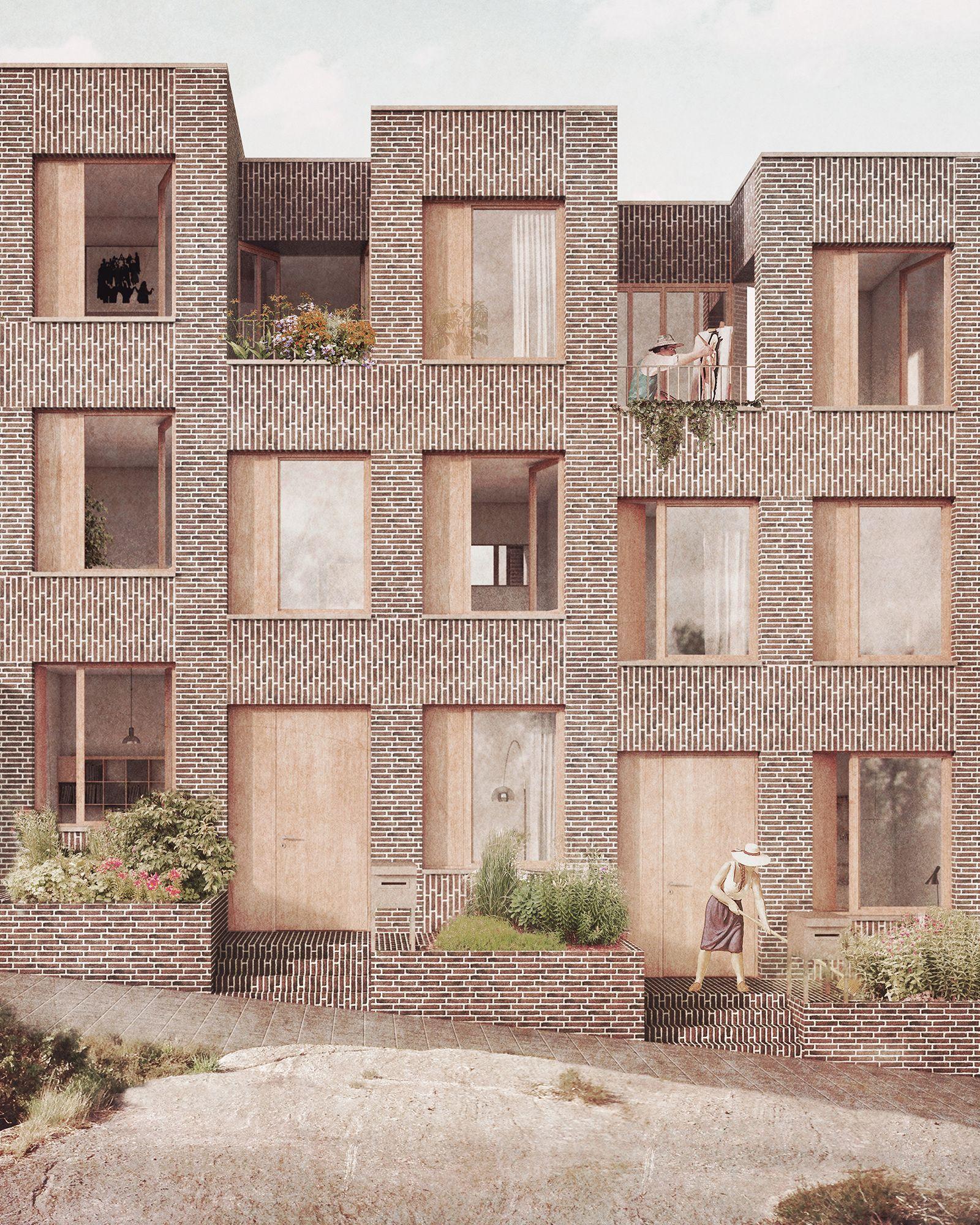 Duvar   VK   Architektur, Architektur visualisierung, Architektur ...