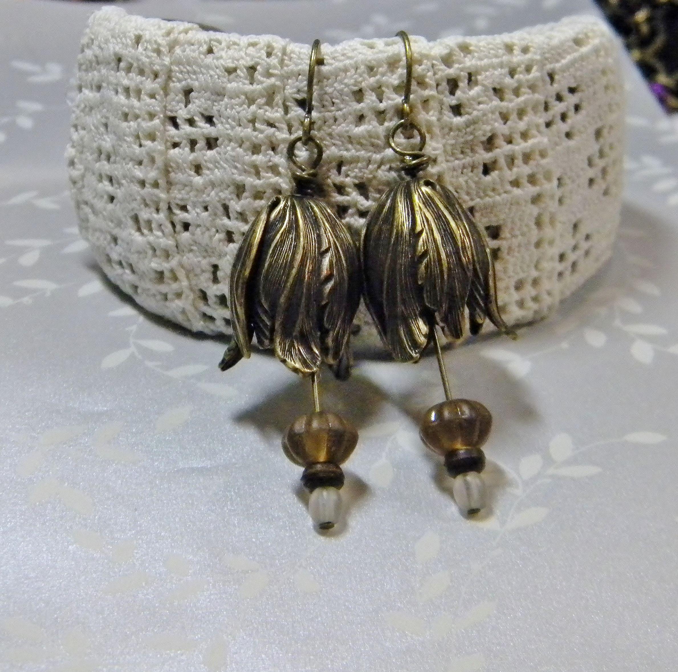 Some simple Sunday earrings - Amy Jorgensen - Ameme Designs