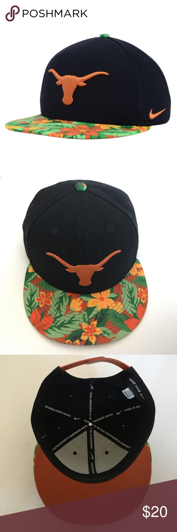 Nike True NCAA TX Longhorns Limited Edition Hat OS in 2019  493012f43b5a