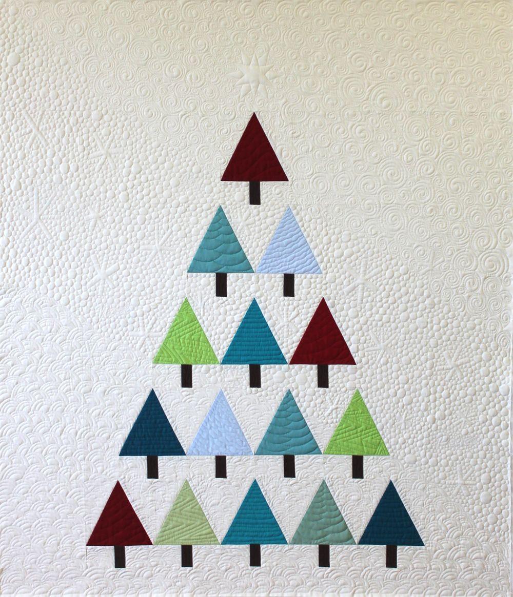 Christa\'s Quilt Along 7.5 – Modern Trees Machine Quilting Part 2 ...