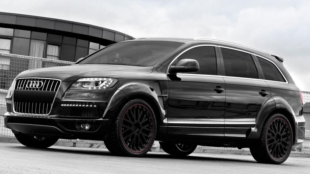Audi Q7 Diesel Wide Track By Kahn Design Motorward Audi Q7 Audi Q7 Black Audi Q7 Diesel